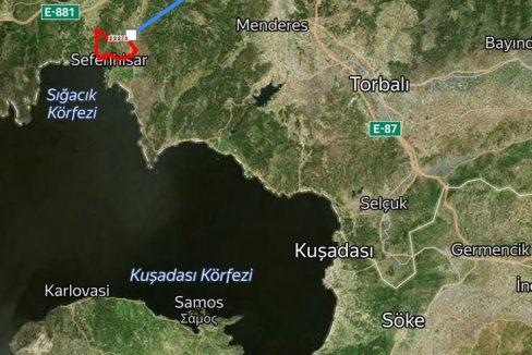 Grundstück - Izmir/ Seferihsar - Erschlossen 2