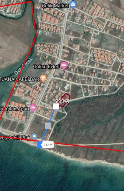 00210 - Grundstück Vollerschlossen - Edirne:Enez:GÜLÇAVUŞ 10