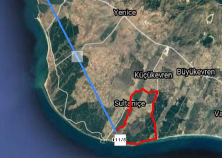 00210 - Grundstück Vollerschlossen - Edirne:Enez:GÜLÇAVUŞ 6