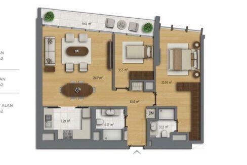 Luxuswohnungen in Istambul B Residences 10