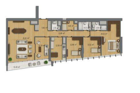 Luxuswohnungen in Istambul B Residences 16