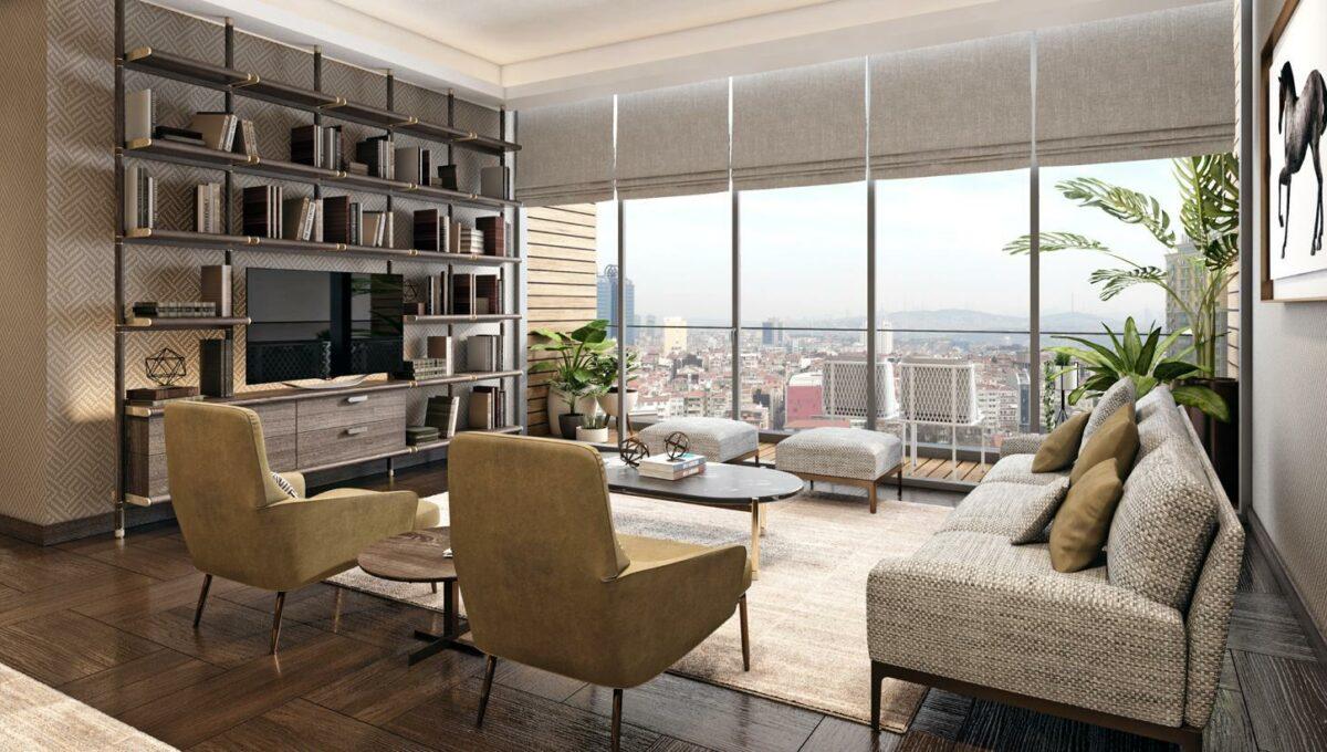 Luxuswohnungen in Istambul B Residences 18